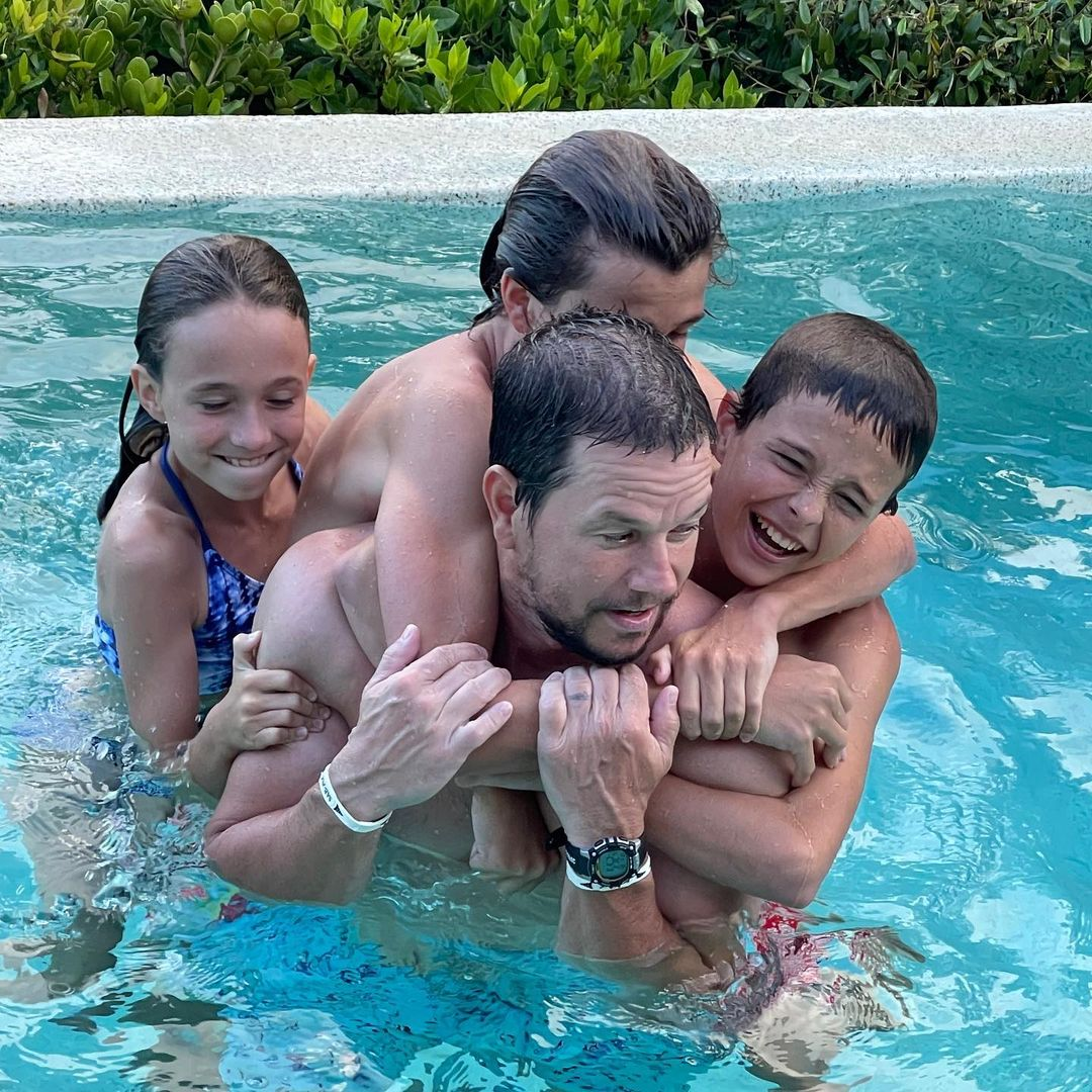 mark wahlberg and kids