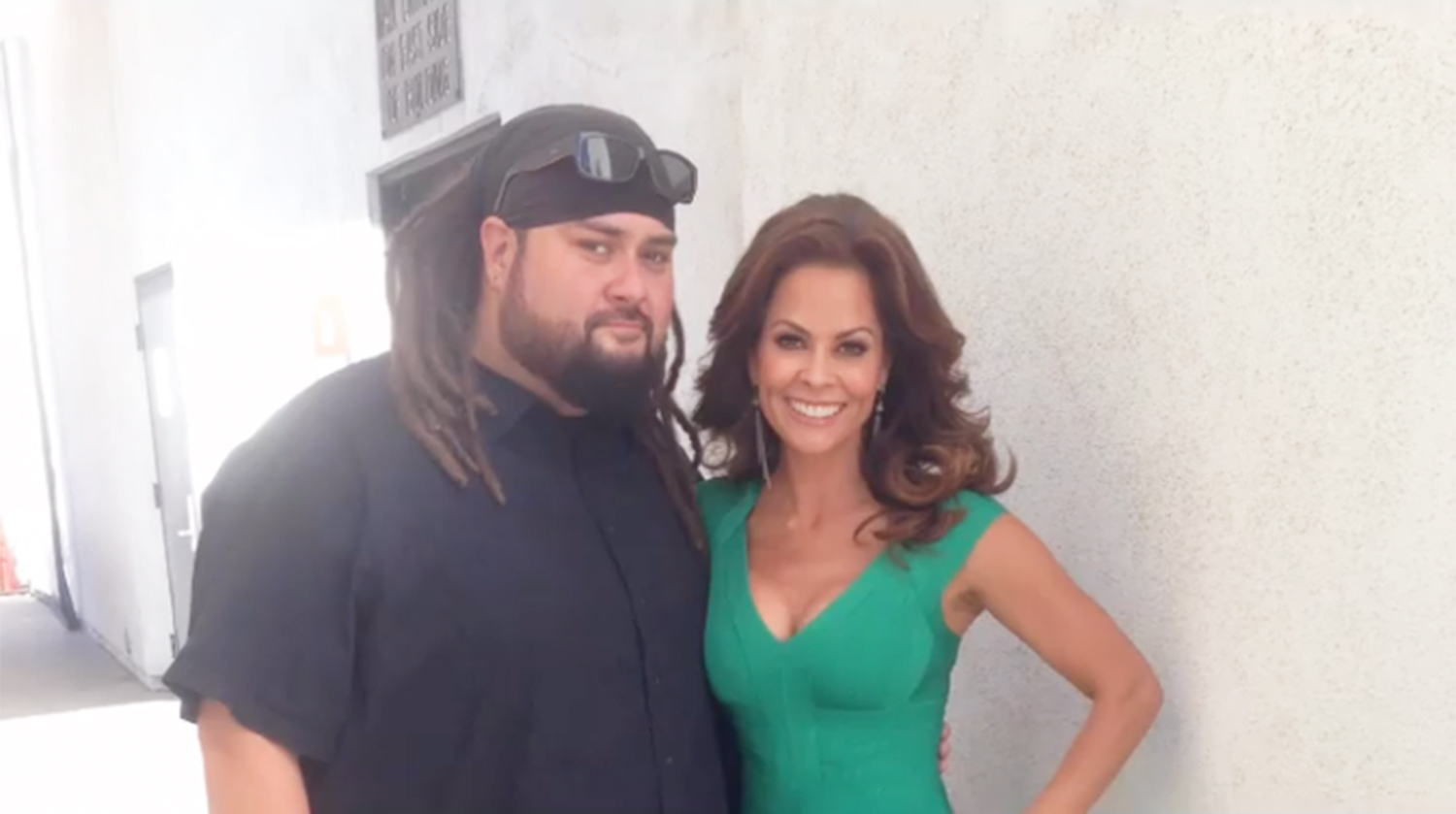 Brooke Burke and Tommy