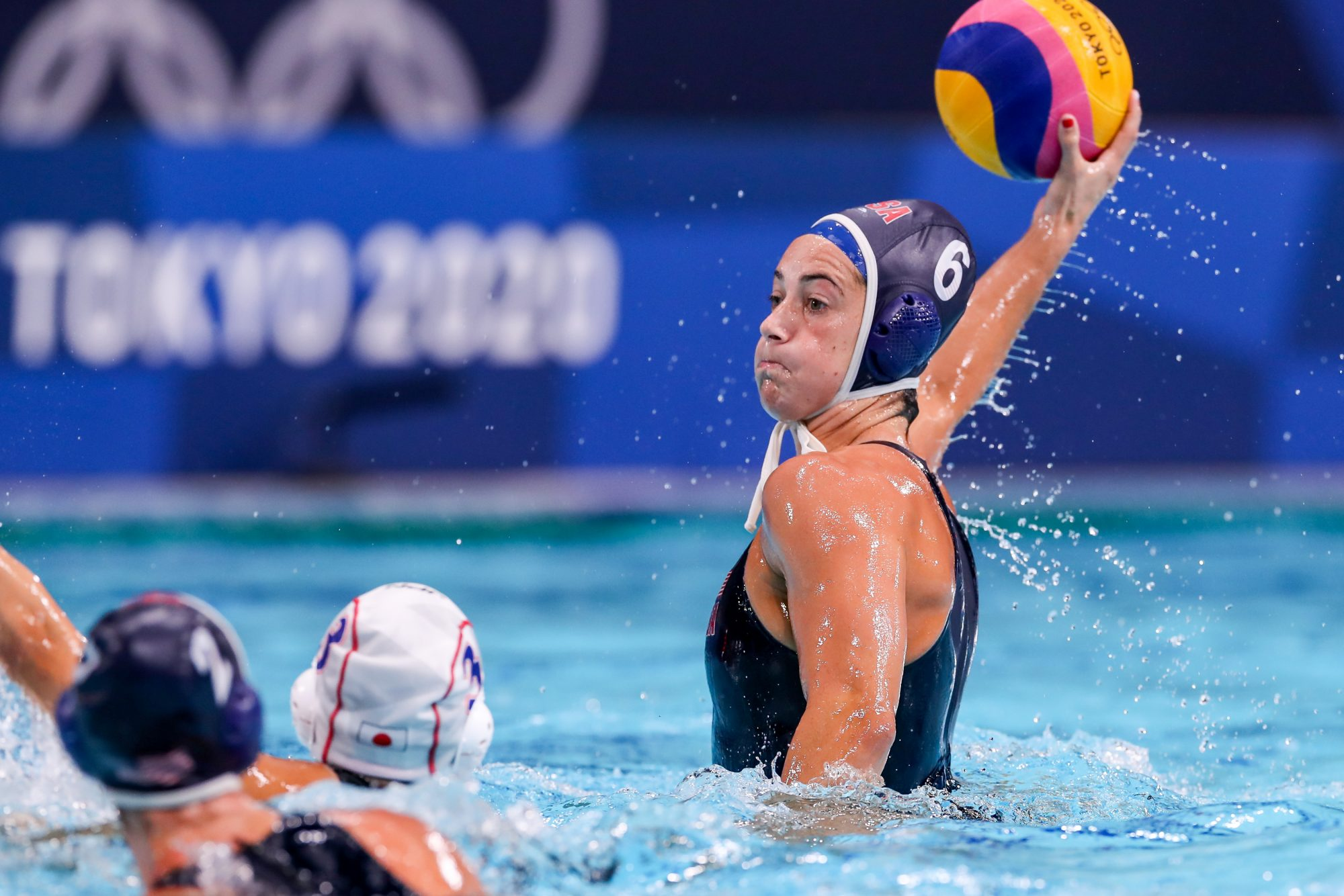 Maggie Steffens water polo