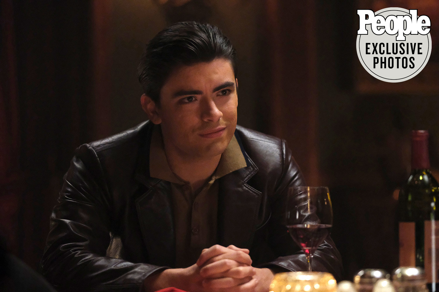 Michael Consuelos as Young Hiram in Riverdale