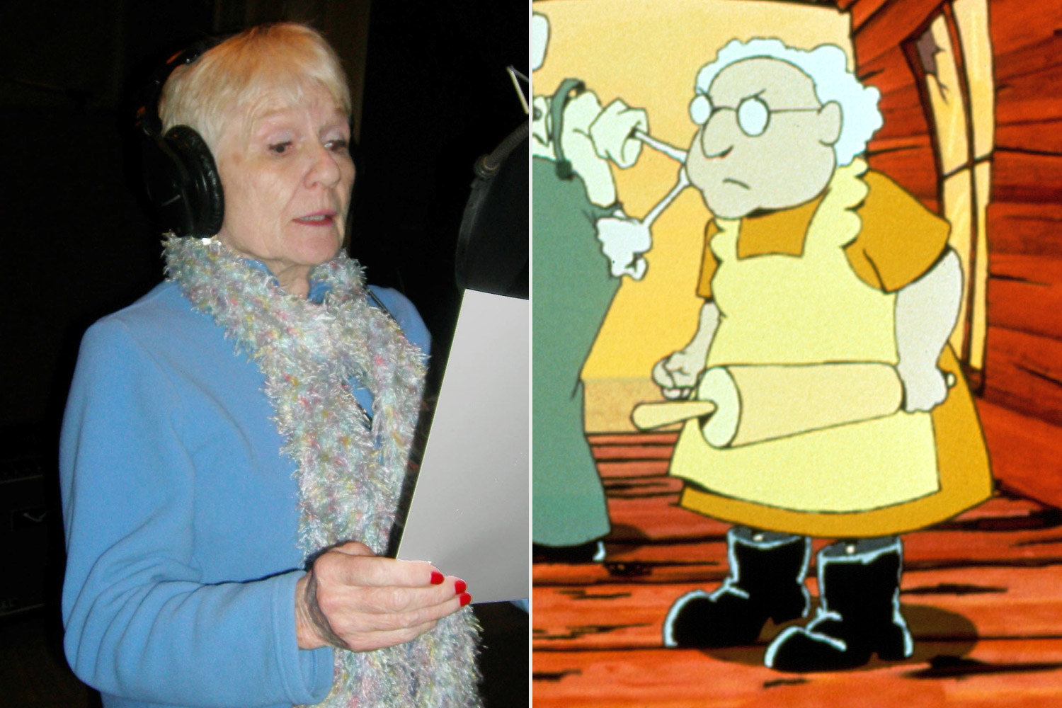 Thea White - COURAGE THE COWARDLY DOG