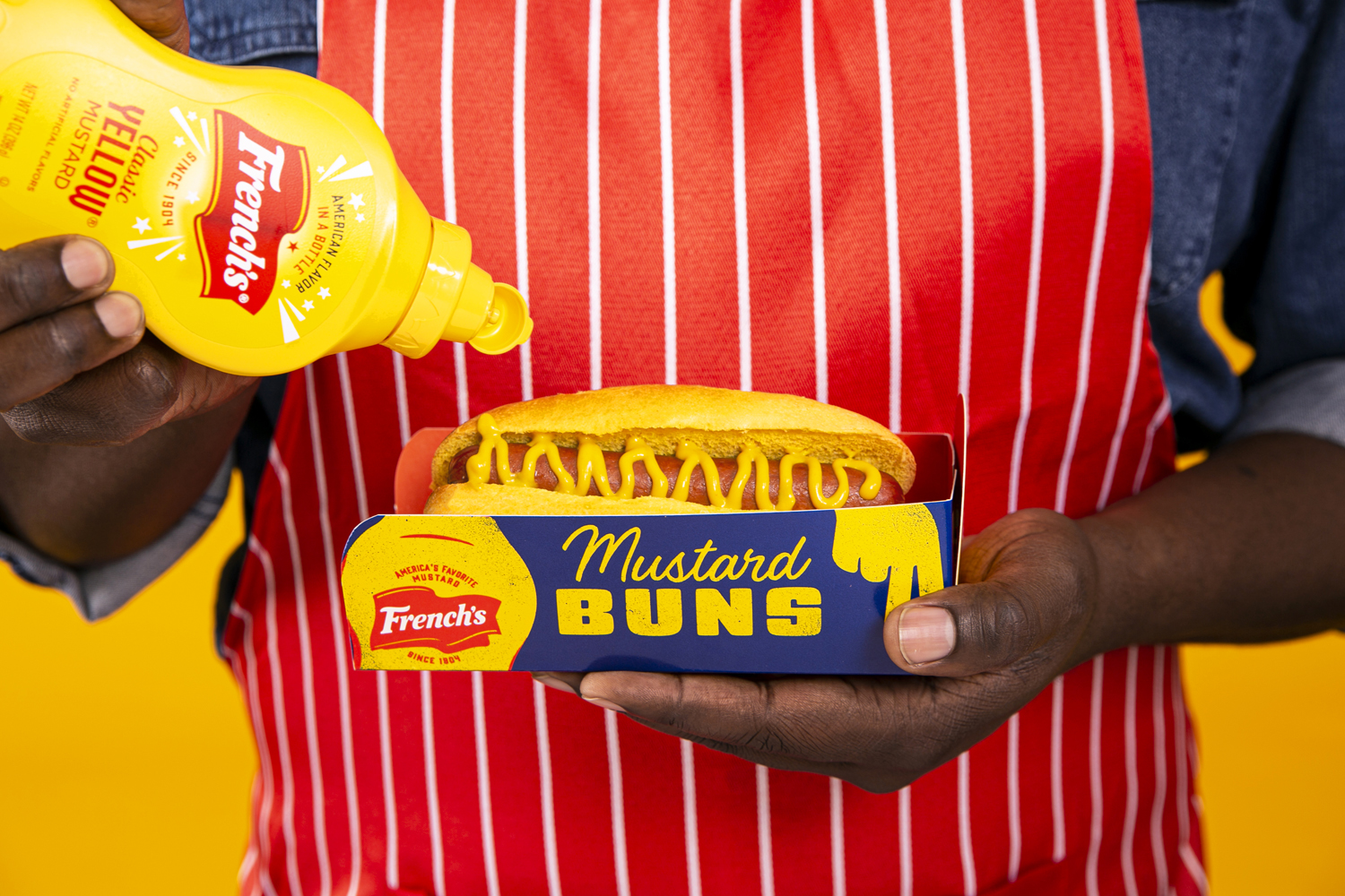 French's Releases Mustard-Infused Buns
