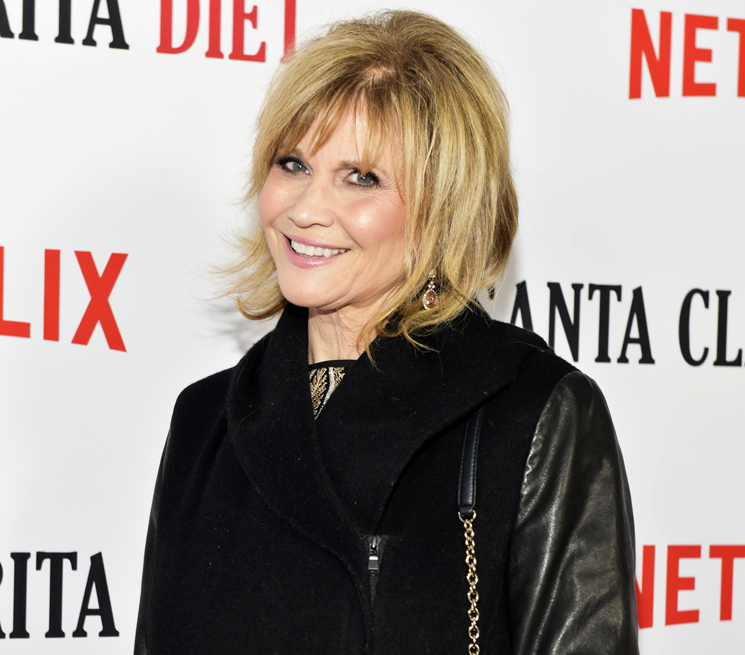 """Markie Post attends Netflix's """"Santa Clarita Diet"""" season 2 premiere at The Dome at Arclight Hollywood on March 22, 2018 in Hollywood, California."""