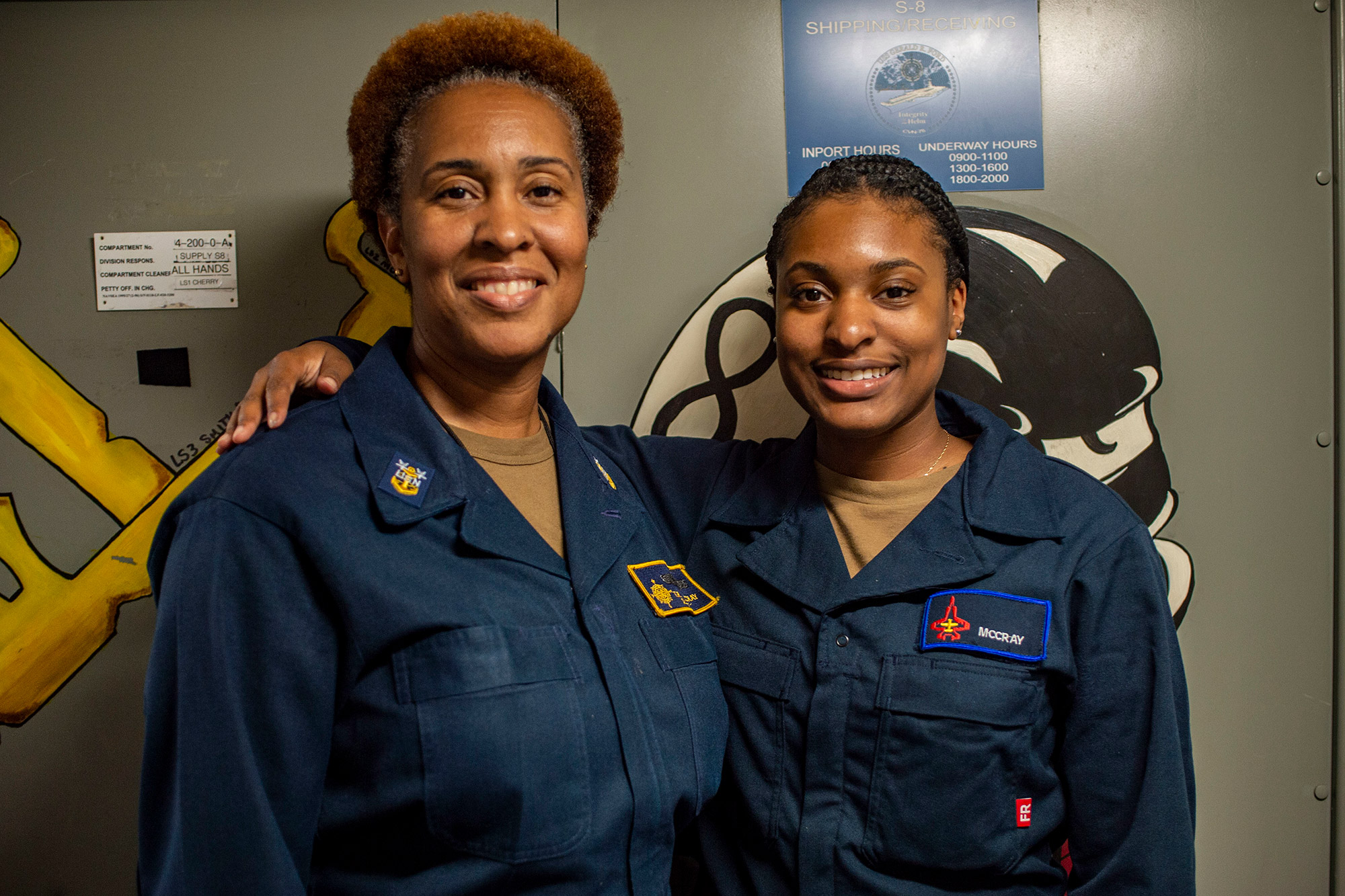 'Proud' Mother and Daughter Get to Serve on Same Navy Ship Together