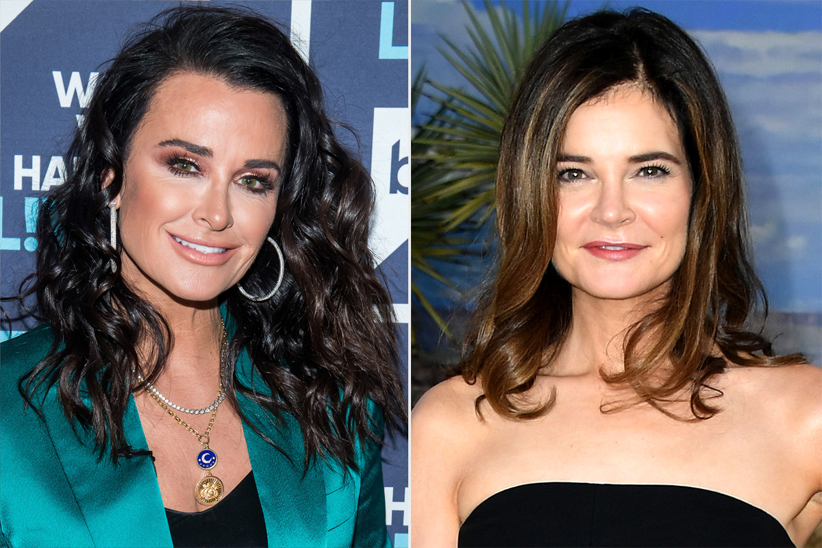 Kyle Richards and Betsy Brandt
