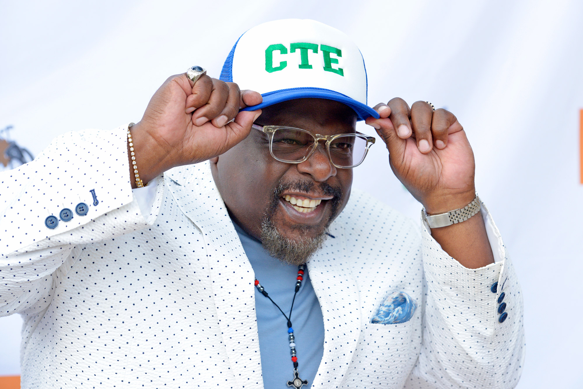 Cedric The Entertainer attends the 8th annual Cedric The Entertainer Golf Classic Lexus VIP pairings party celebration at Bogie's on August 15, 2021 in Westlake Village, California