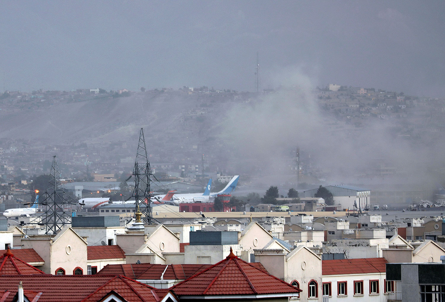 Kabul airport explosion