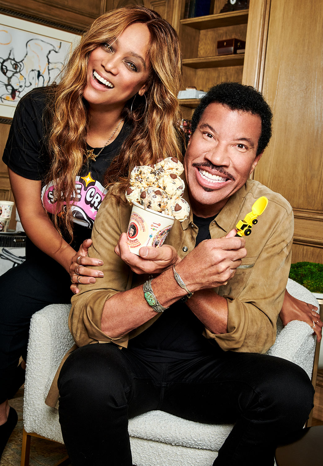 Tyra Banks and Lionel Richie Team Up to Release New All Night Love Smize Cream