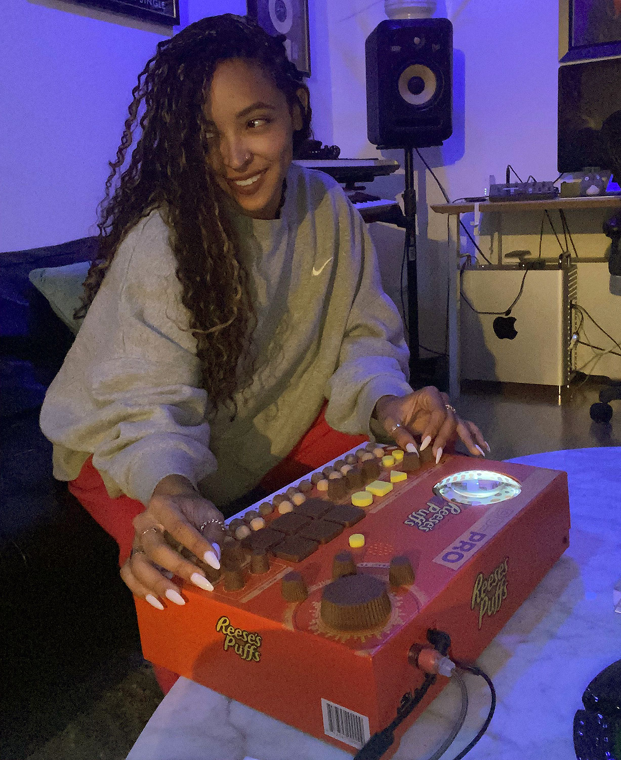Tinashe teams up with Reese's Puffs to release music boxes