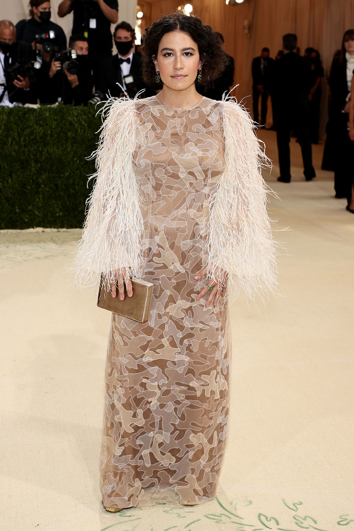 Ilana Glazer attends The 2021 Met Gala Celebrating In America: A Lexicon Of Fashion at Metropolitan Museum of Art on September 13, 2021