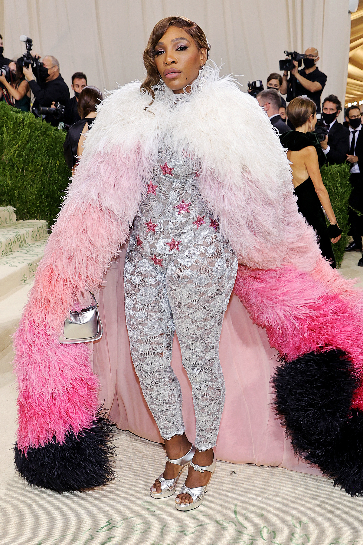 Serena Williams attends The 2021 Met Gala Celebrating In America: A Lexicon Of Fashion at Metropolitan Museum of Art on September 13, 2021 in New York City.