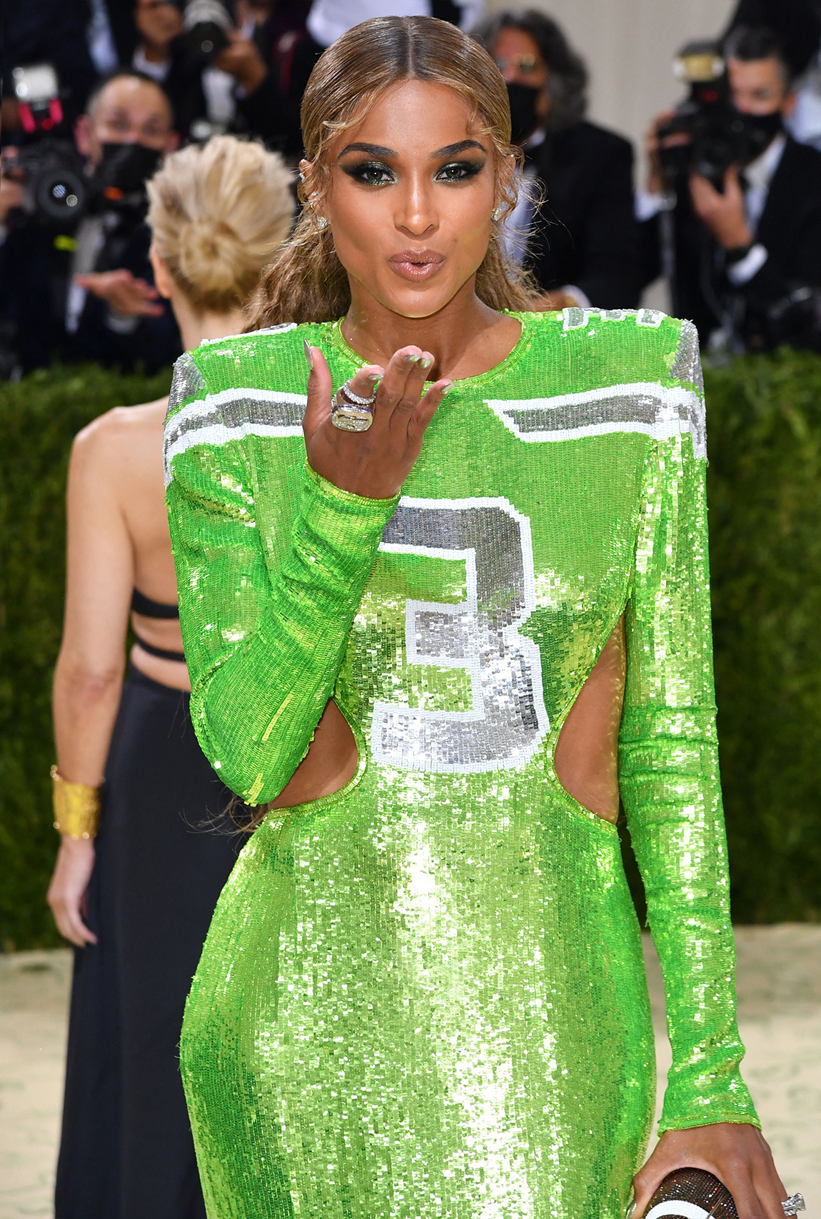 Ciara; The 2021 Met Gala Celebrating In America: A Lexicon Of Fashion – Arrivals
