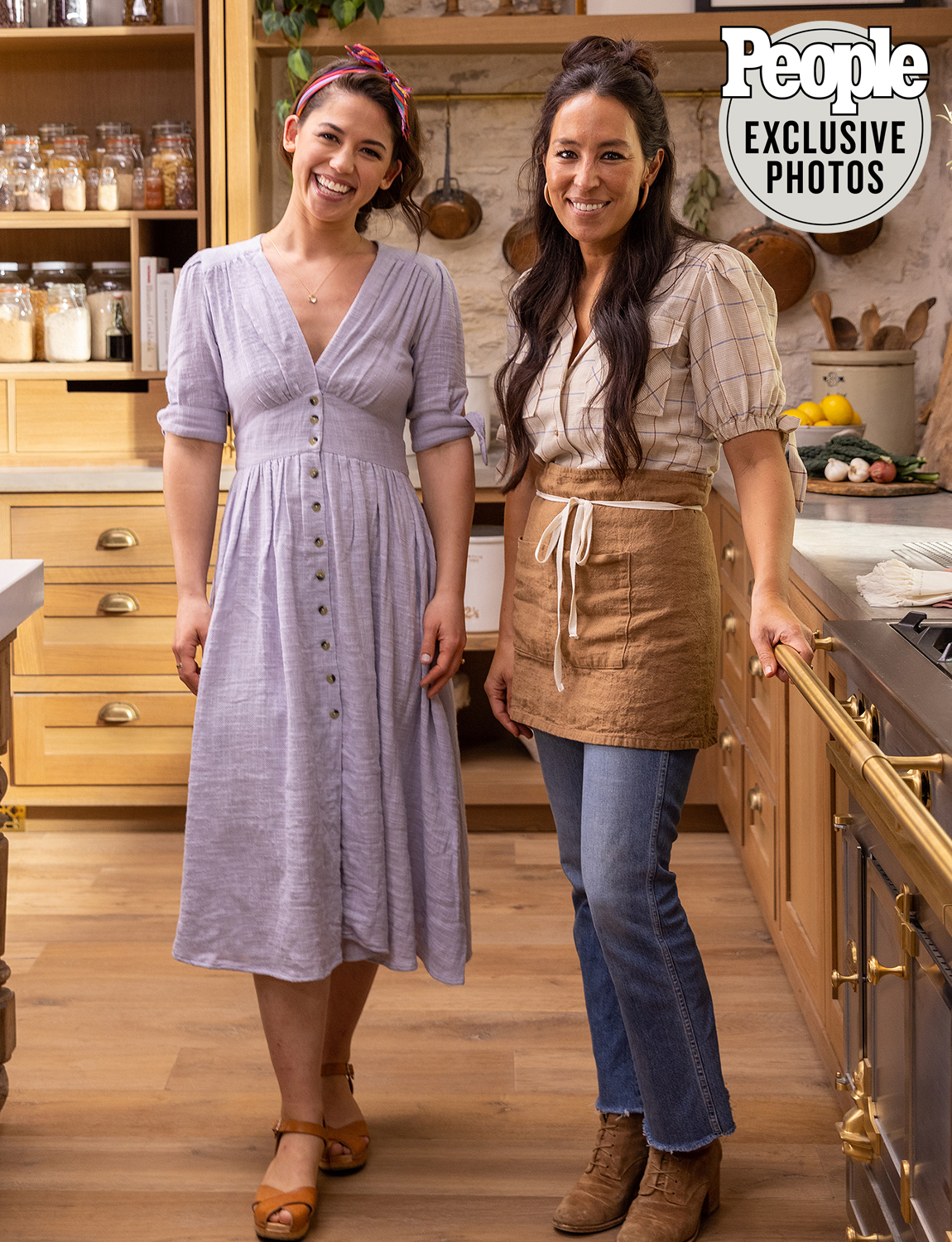 Joanna Gaines and Molly Yeh