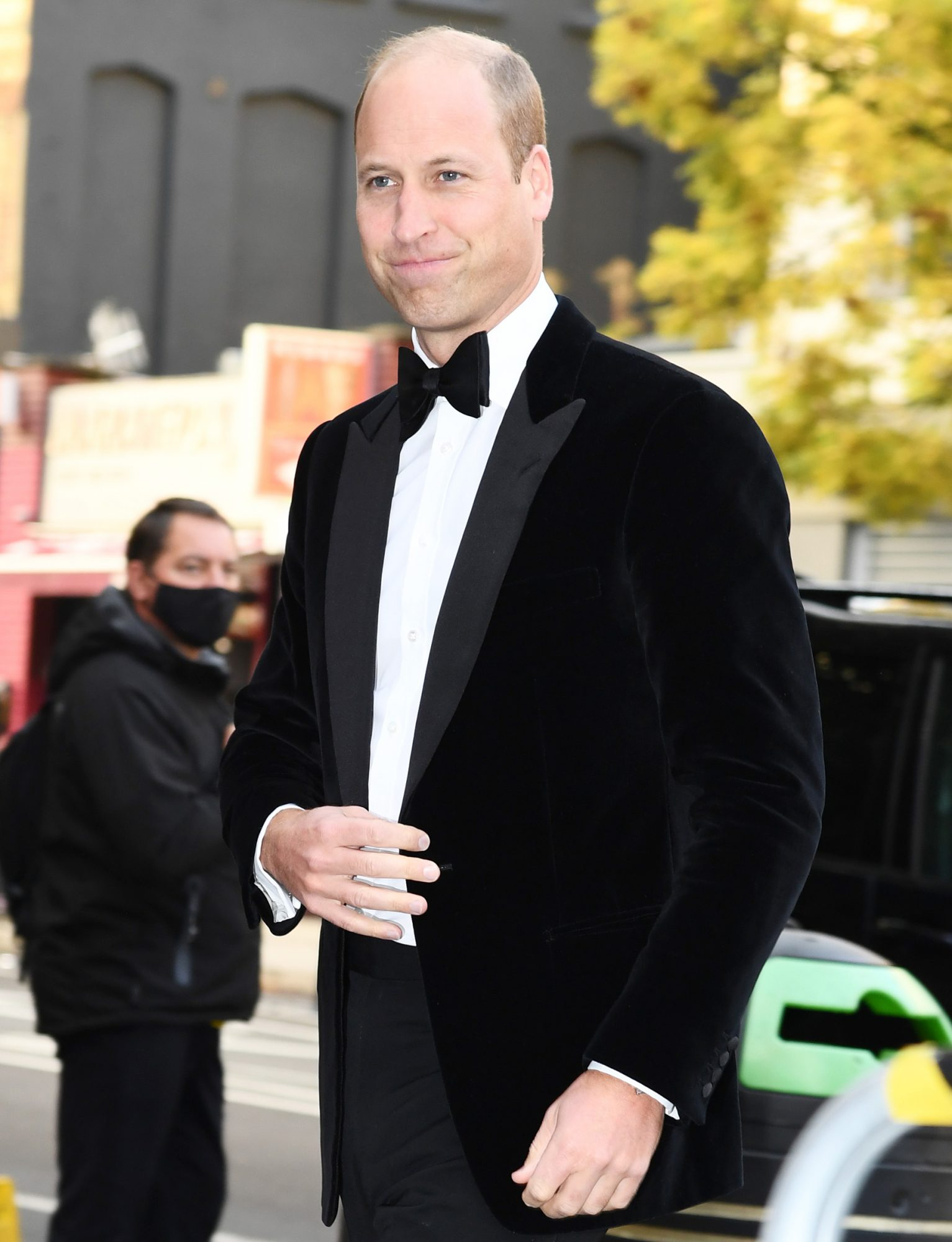The Duke of Cambridge attends the Sun's Who Cares Wins Awards 2021 at The Roundhouse on September 14, 2021 in London, England