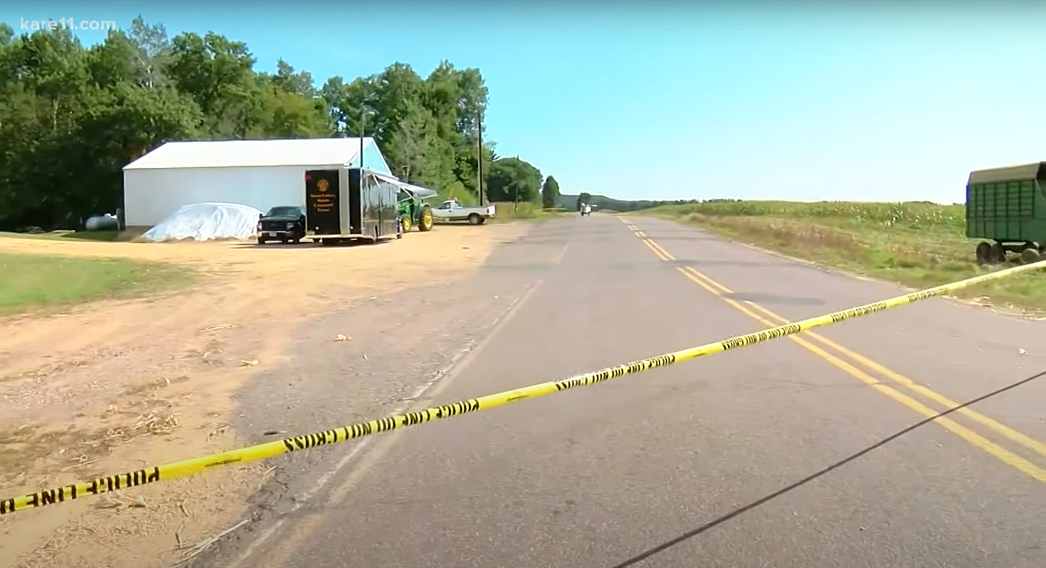 Four individuals were found dead inside an abandoned black SUV in Sheridan Township, Wisconsin