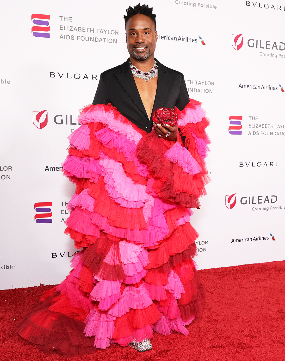 Billy Porter attends The Elizabeth Taylor Ball To End AIDS on September 17, 2021 in West Hollywood, California.