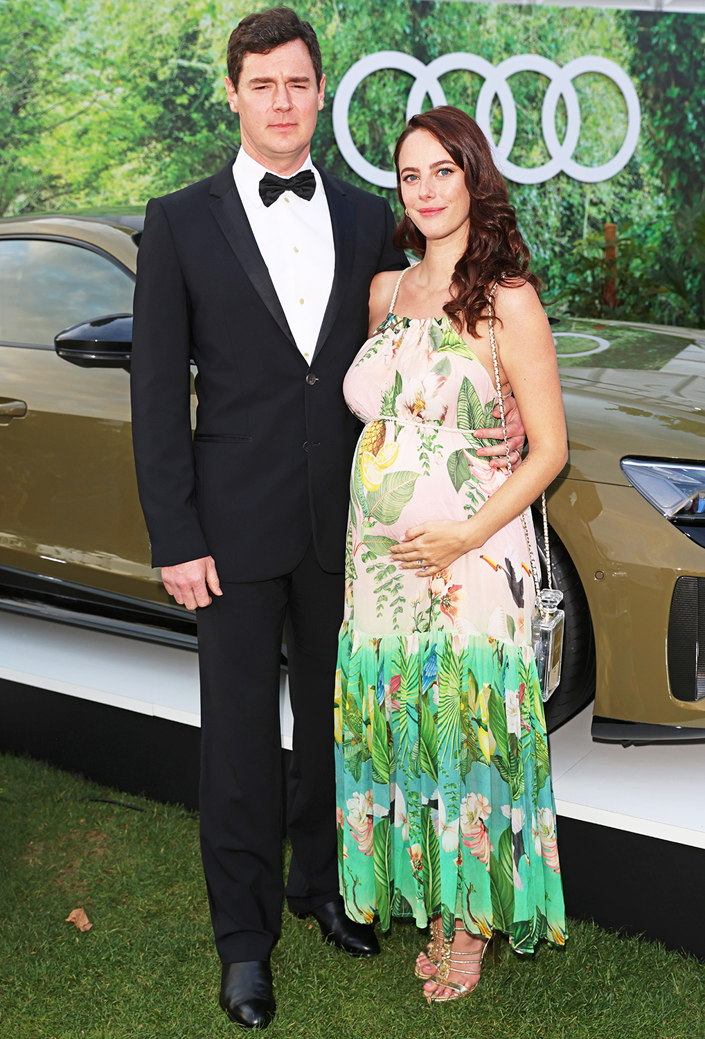 Benjamin Walker and Kaya Scodelario attend the Henley Festival 2021 as guests of Audi on September 17, 2021 in Henley-on-Thames, England.