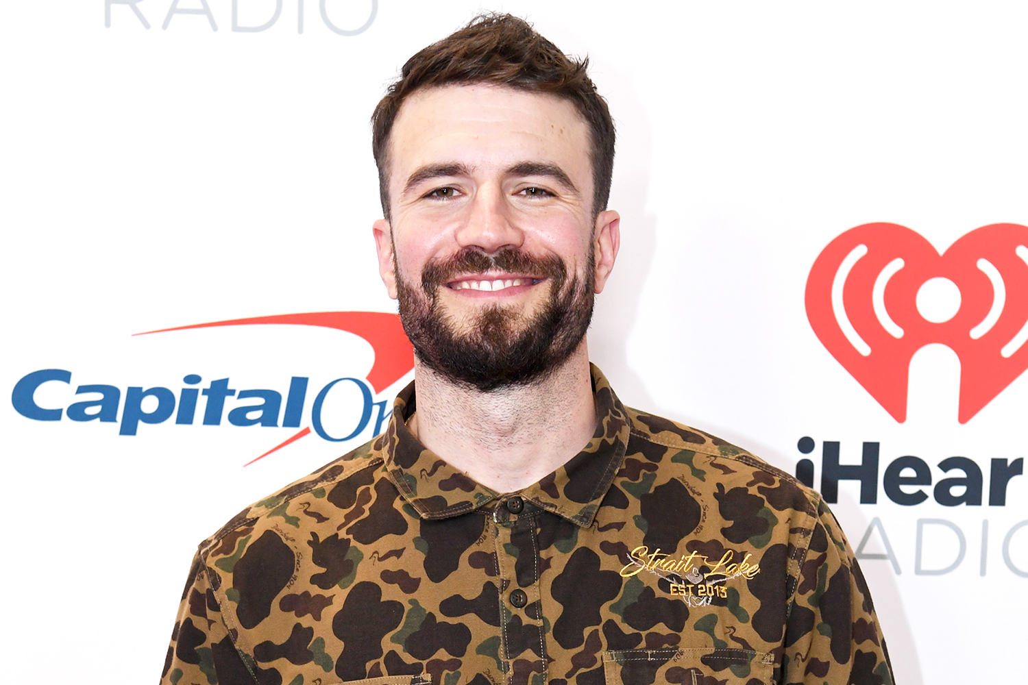 Sam Hunt attends the 2021 iHeartRadio Music Festival on September 18, 2021 at T-Mobile Arena in Las Vegas, Nevada.