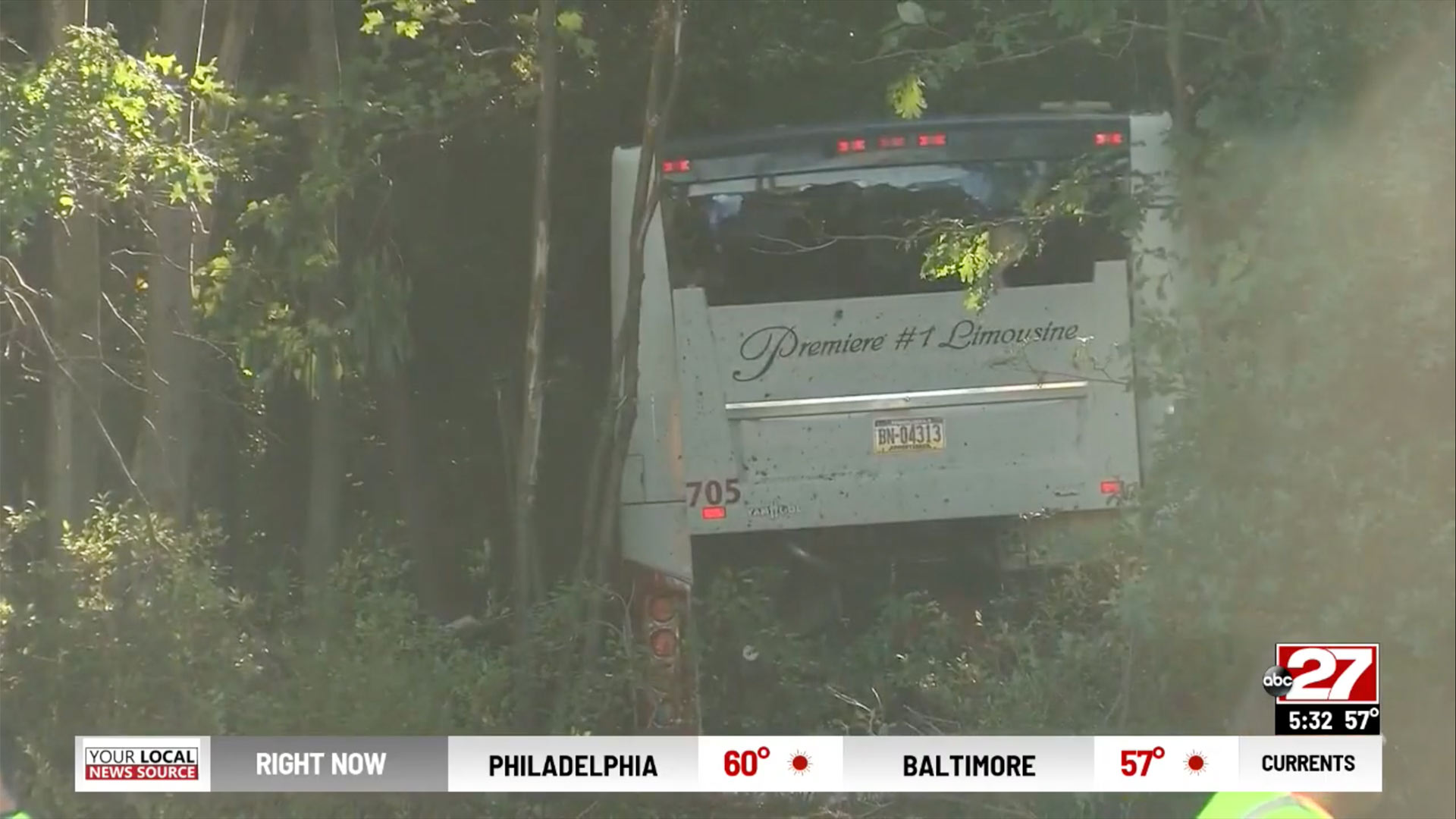 Bus Carrying Church Youth Crashes