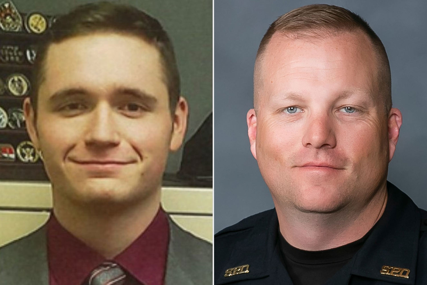 Officer Blaize Madrid Evans and Office Mark Priebe
