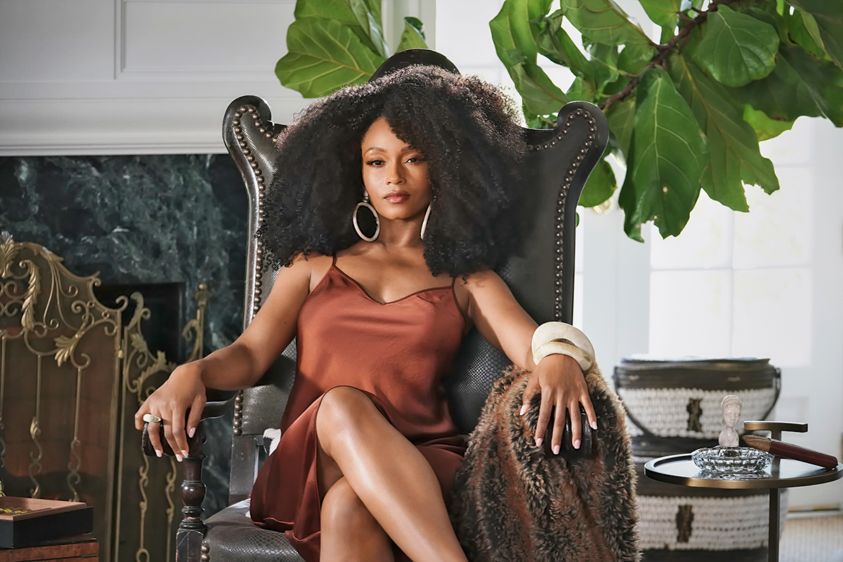OUR KIND OF PEOPLE: Yaya DaCosta in OUR KIND OF PEOPLE