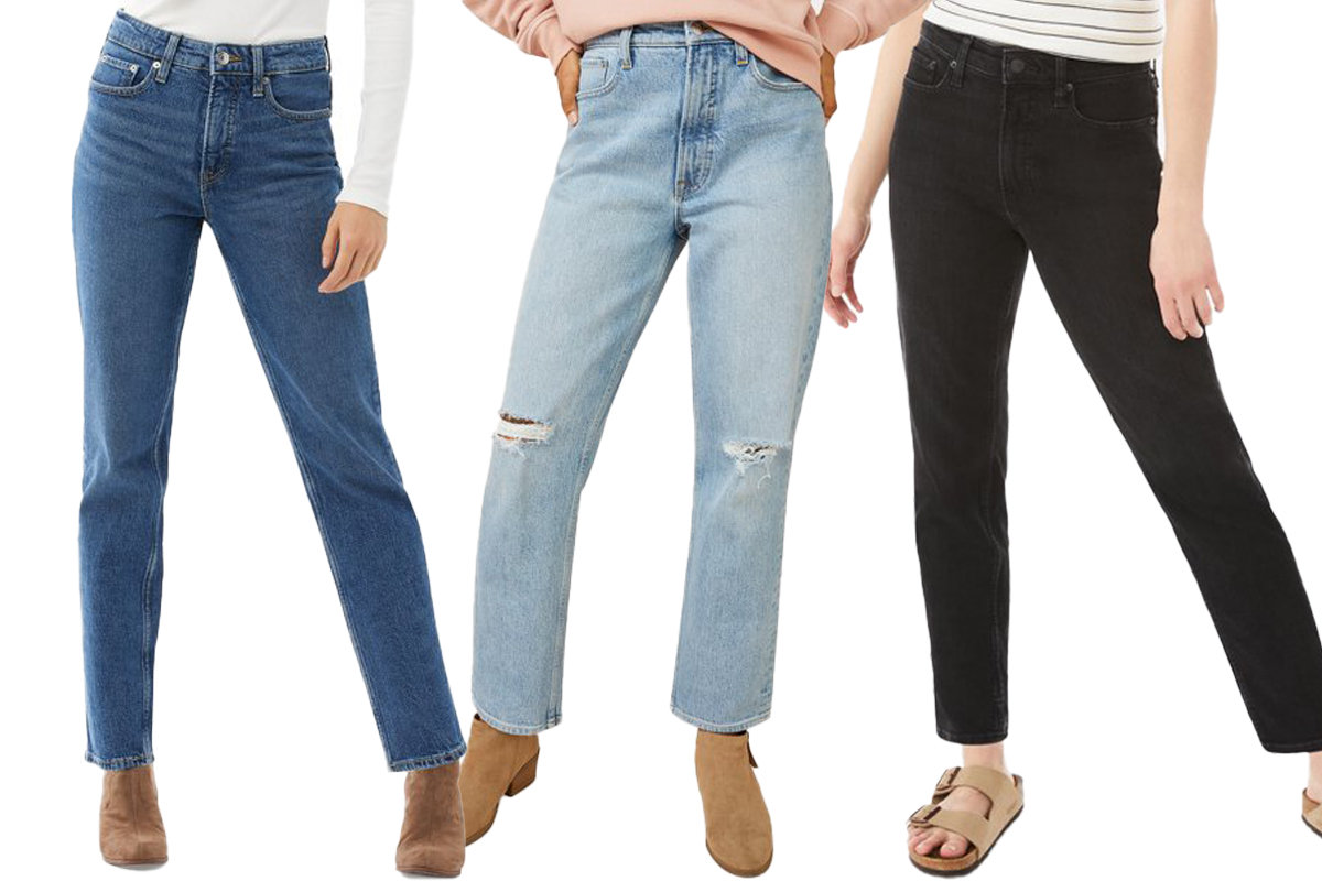 Free Assembly Women's 90 Straight Jeans