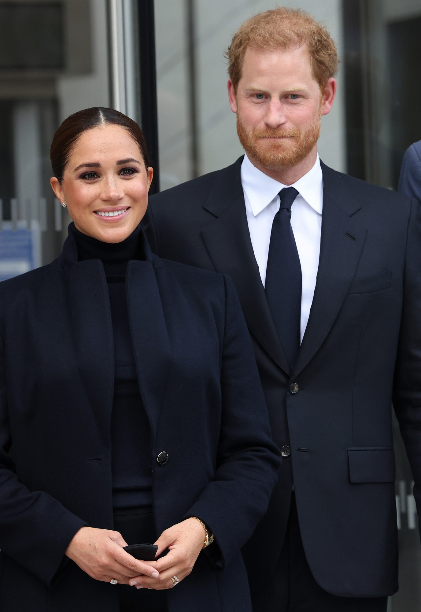 The Duke And Duchess Of Sussex Visit One World Observatory Meghan Markle prince harry