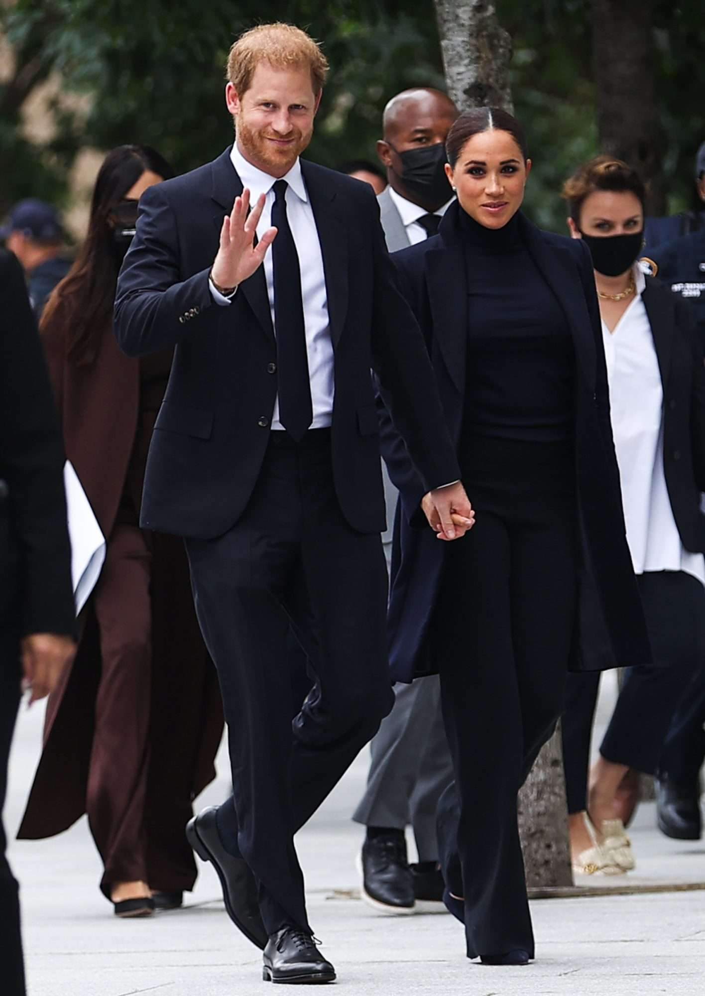 Prince Harry and Meghan Markle visit the One World Observatory
