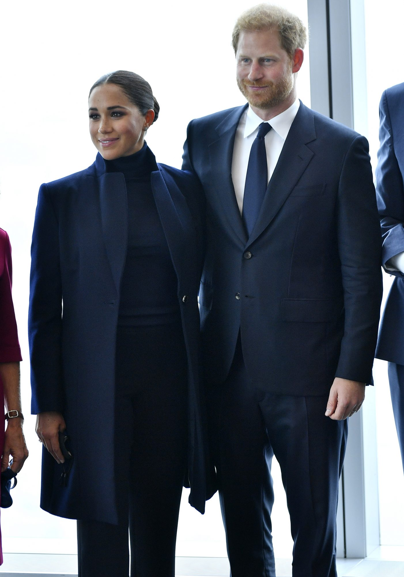 The Duke And Duchess Of Sussex Visit One World Observatory