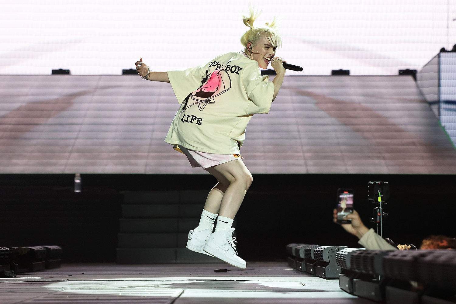 Billie Eilish performs during the 2021 Governors Ball Music Festival at Citi Field on September 24, 2021 in New York City.