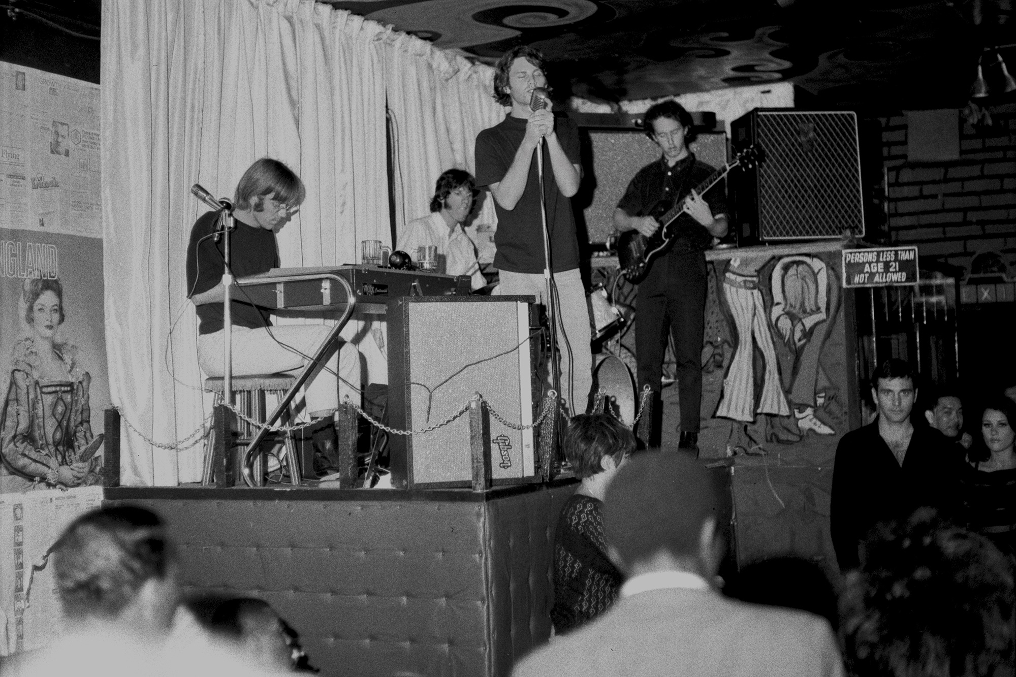 The Doors at the London Fog, 1966