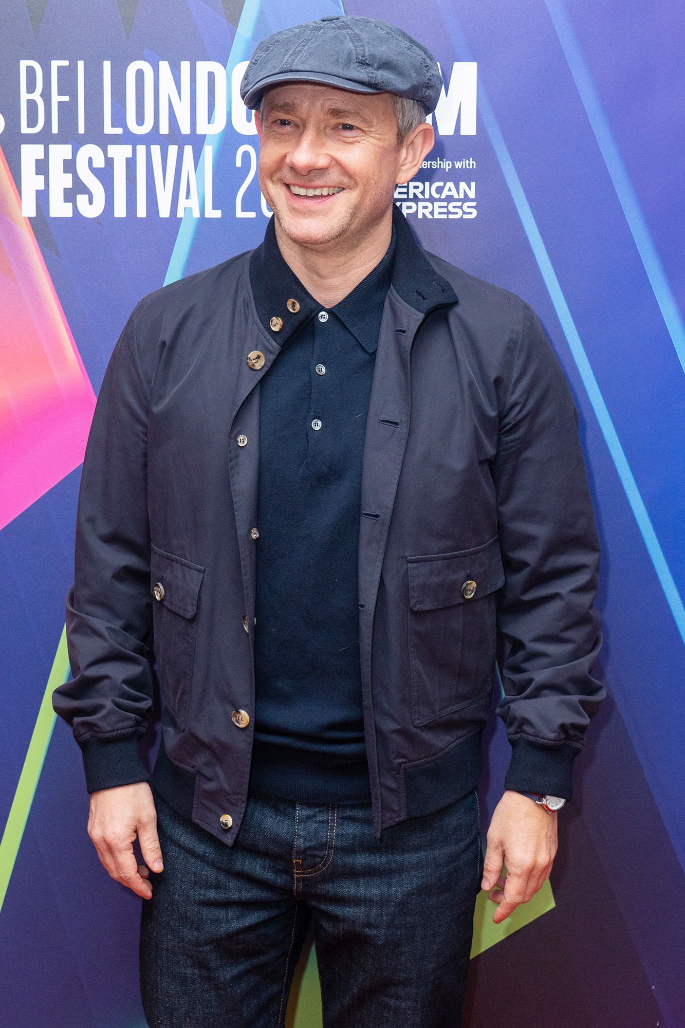 Martin Freeman arriving for the UK premiere of 'Boiling Point', at the Odeon Luxe West End cinema in London during the BFI London Film Festival.