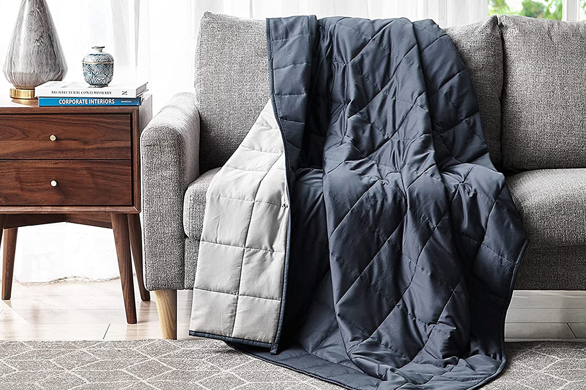 YnM Weighted Blanket — Organic Long Stapled Cotton Material