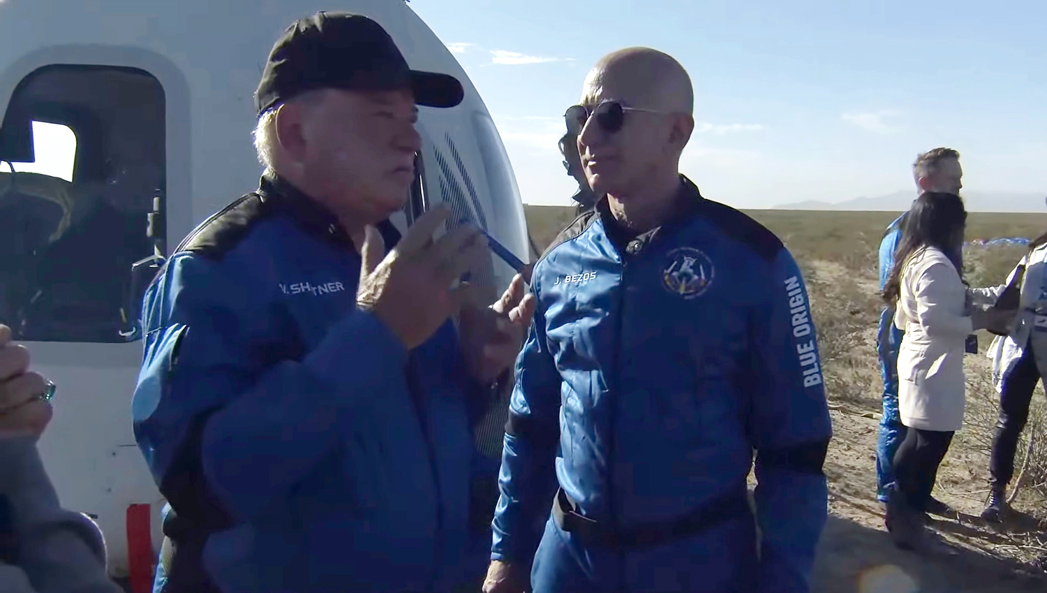 Shatner trip to space with Blue Origin