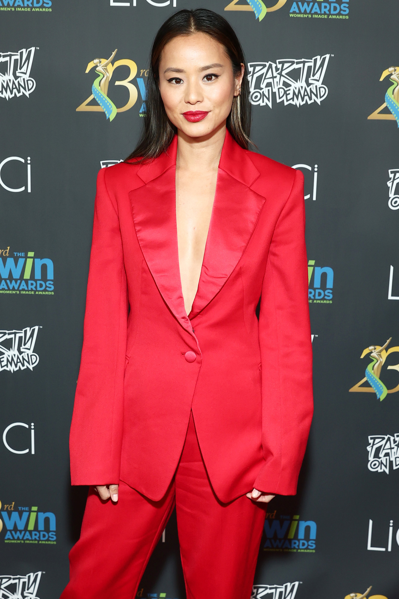 Jamie Chung attends the 23rd Women's Images Awards Presented By The Women's Image Network at Saban Theatre on October 14, 2021 in Beverly Hills, California.