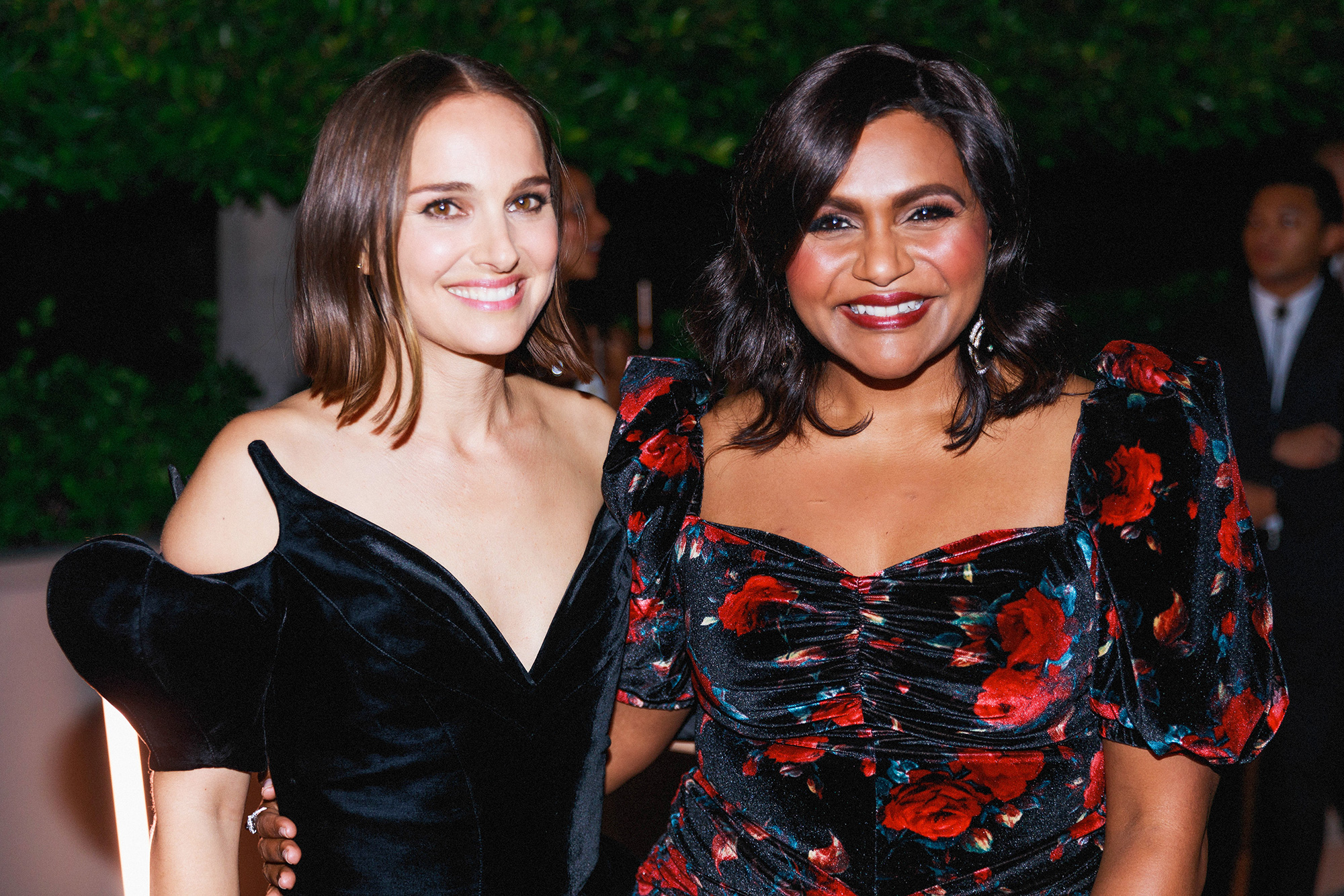 Natalie Portman and Mindy Kaling attend the L.A. Dance Project Annual Gala on October 16, 2021