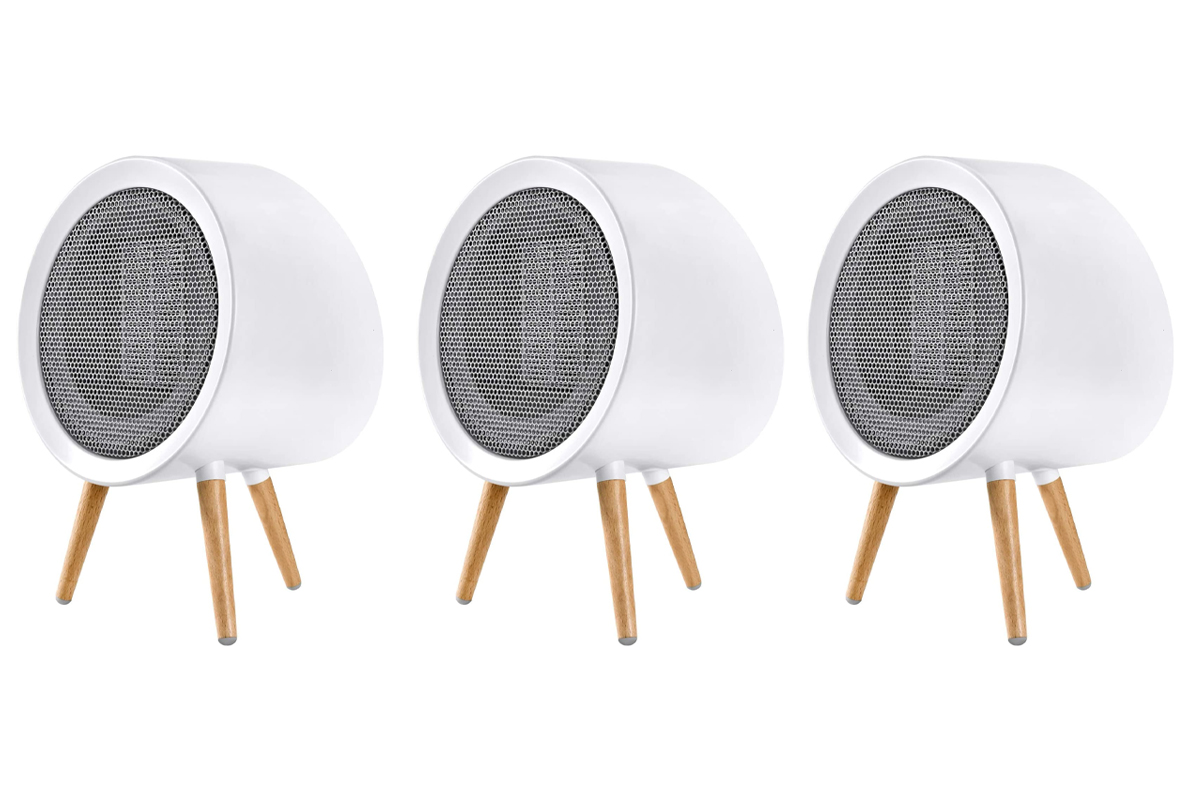 GAIATOP Space Heater, Energy Efficient Small Space Heater for Bedroom