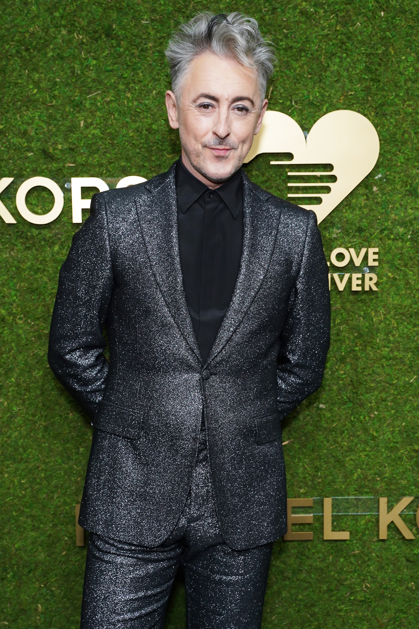 Alan Cumming attends the Golden Heart Awards 2021 benefiting God's Love We Deliver at The Glasshouse on October 18, 2021 in New York City.