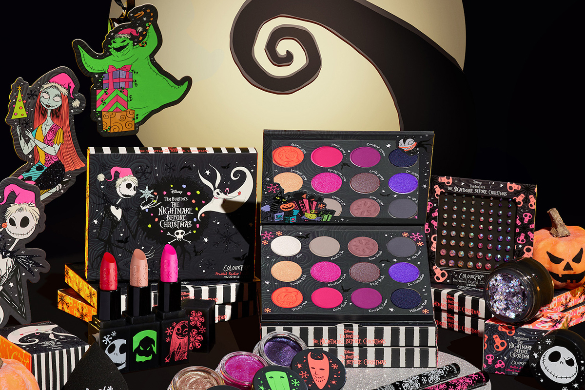 ColourPop x Nightmare Before Christmas Collection