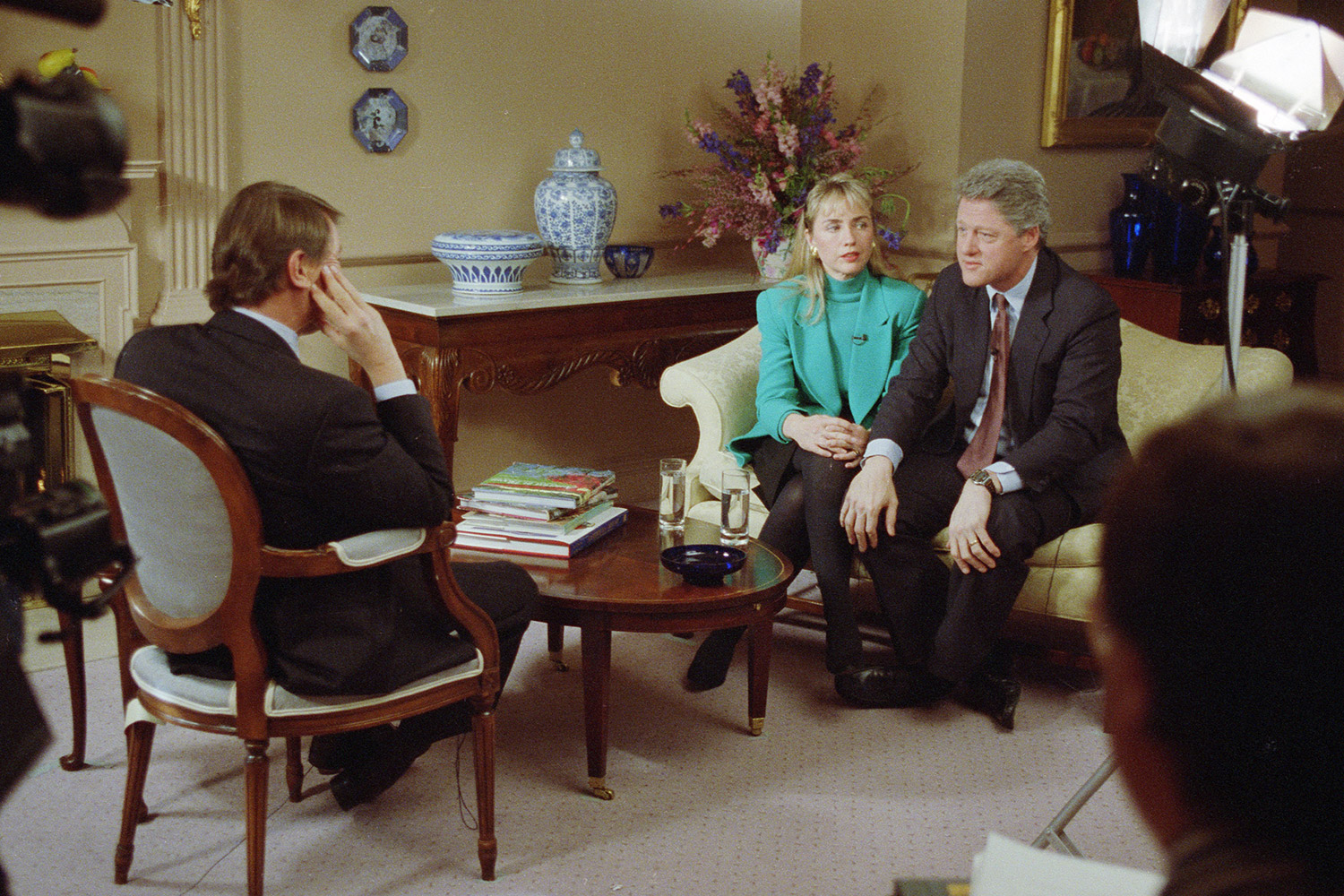Hillary and Bill Clinton on 60 Minutes