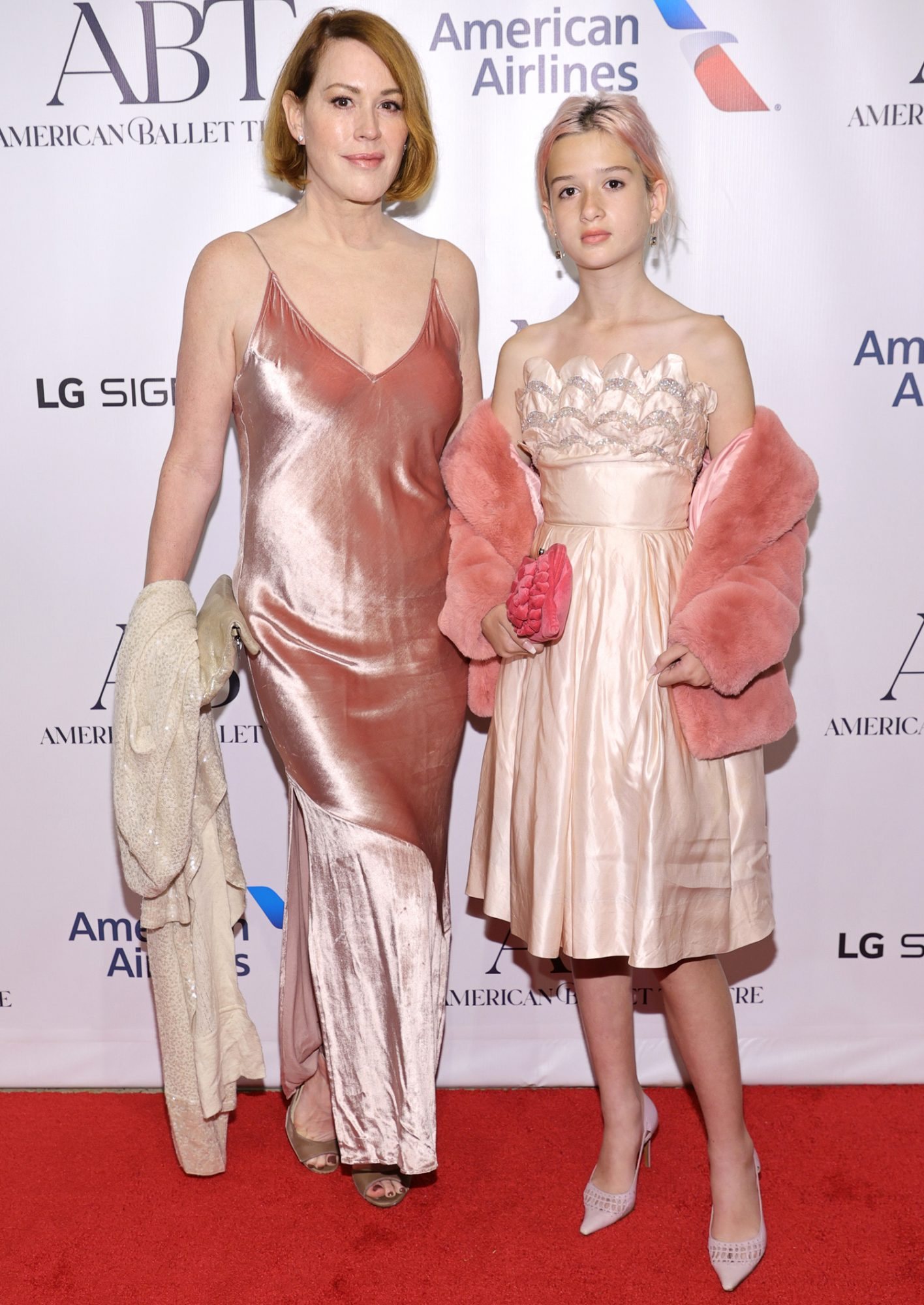 Molly Ringwald and Adele Georgiana Gianopoulos