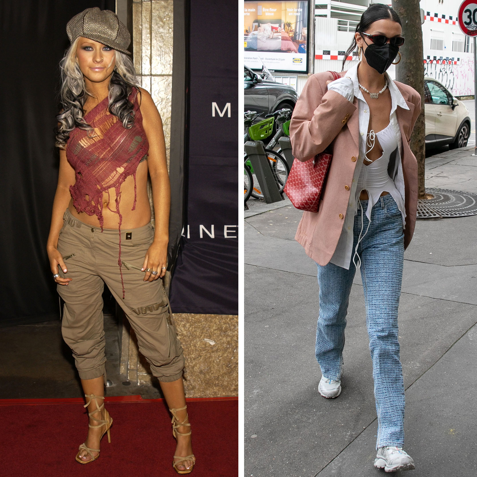 Everyone Is Dressing Like 2002 Christina Aguilera Now