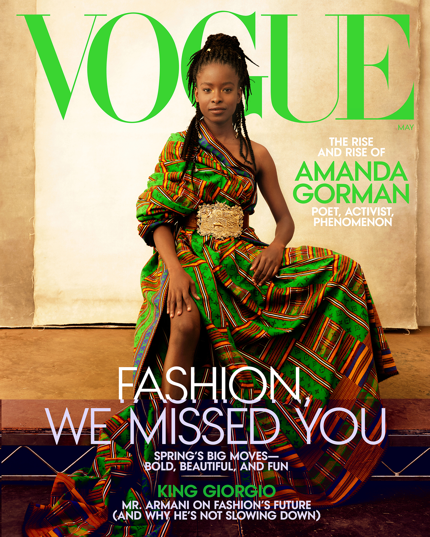 Amanda Gorman for Vogue