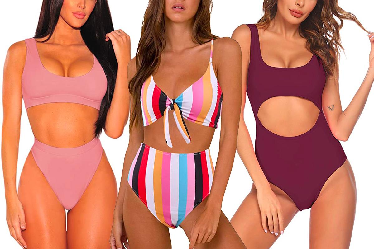 Amazon Flattering Bathing Suits