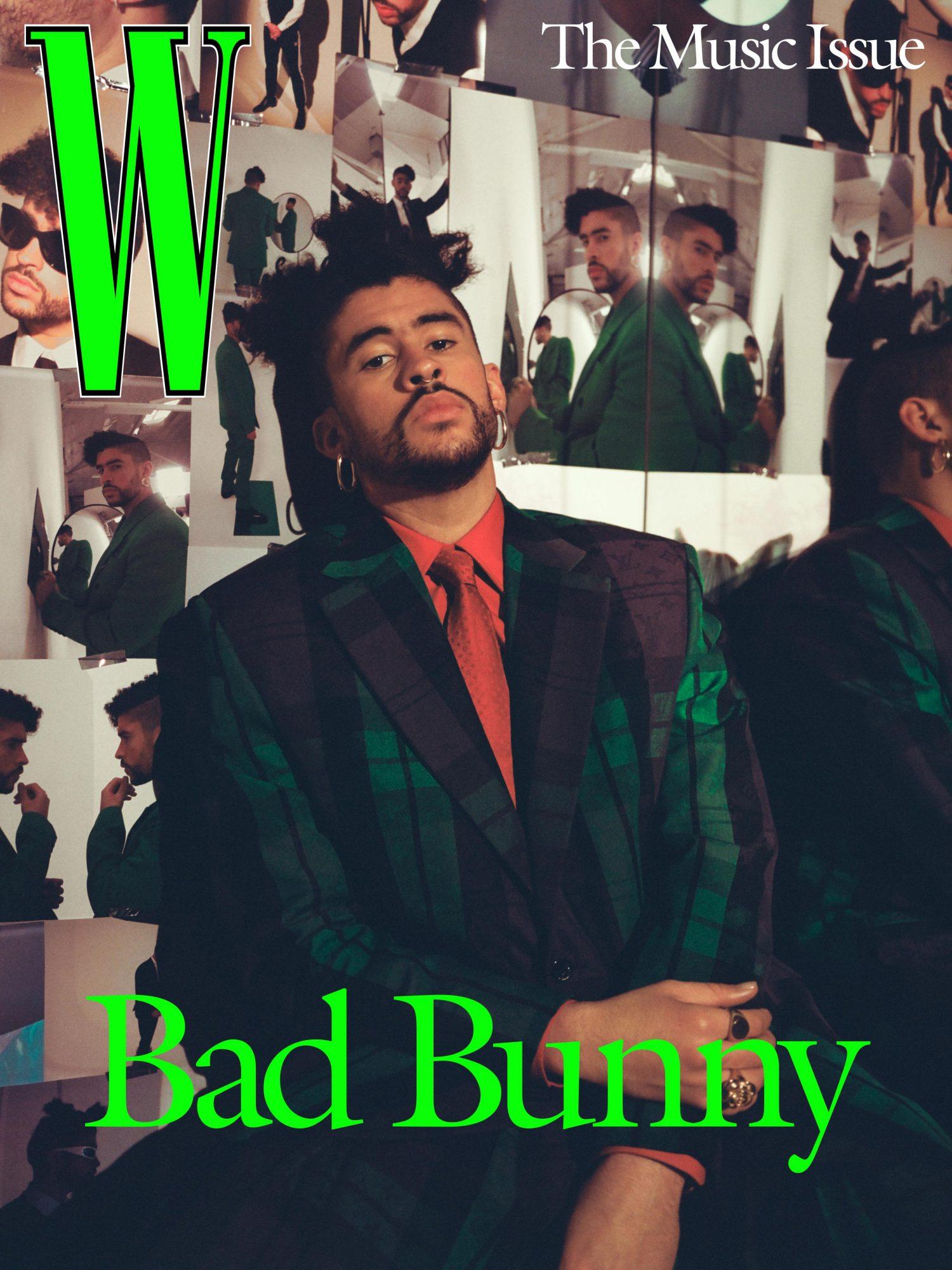 Bad Bunny; Martine Syms for W Magazine