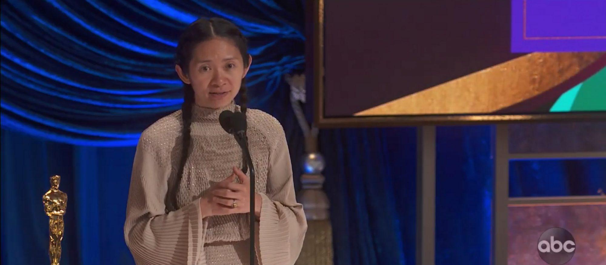 Chloe Zhao Academy Awards