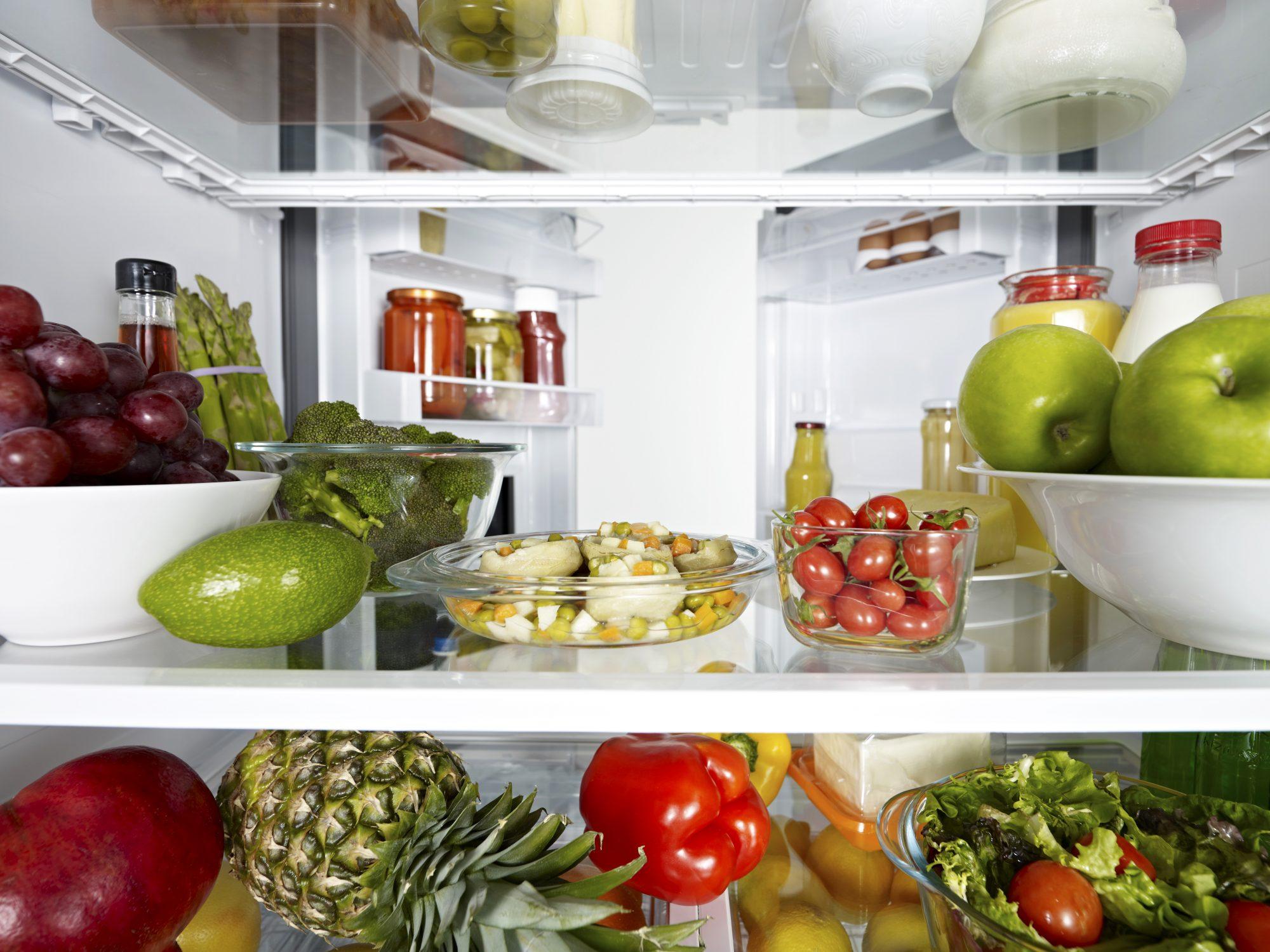 food-waste-mistakes: inside refrigerator
