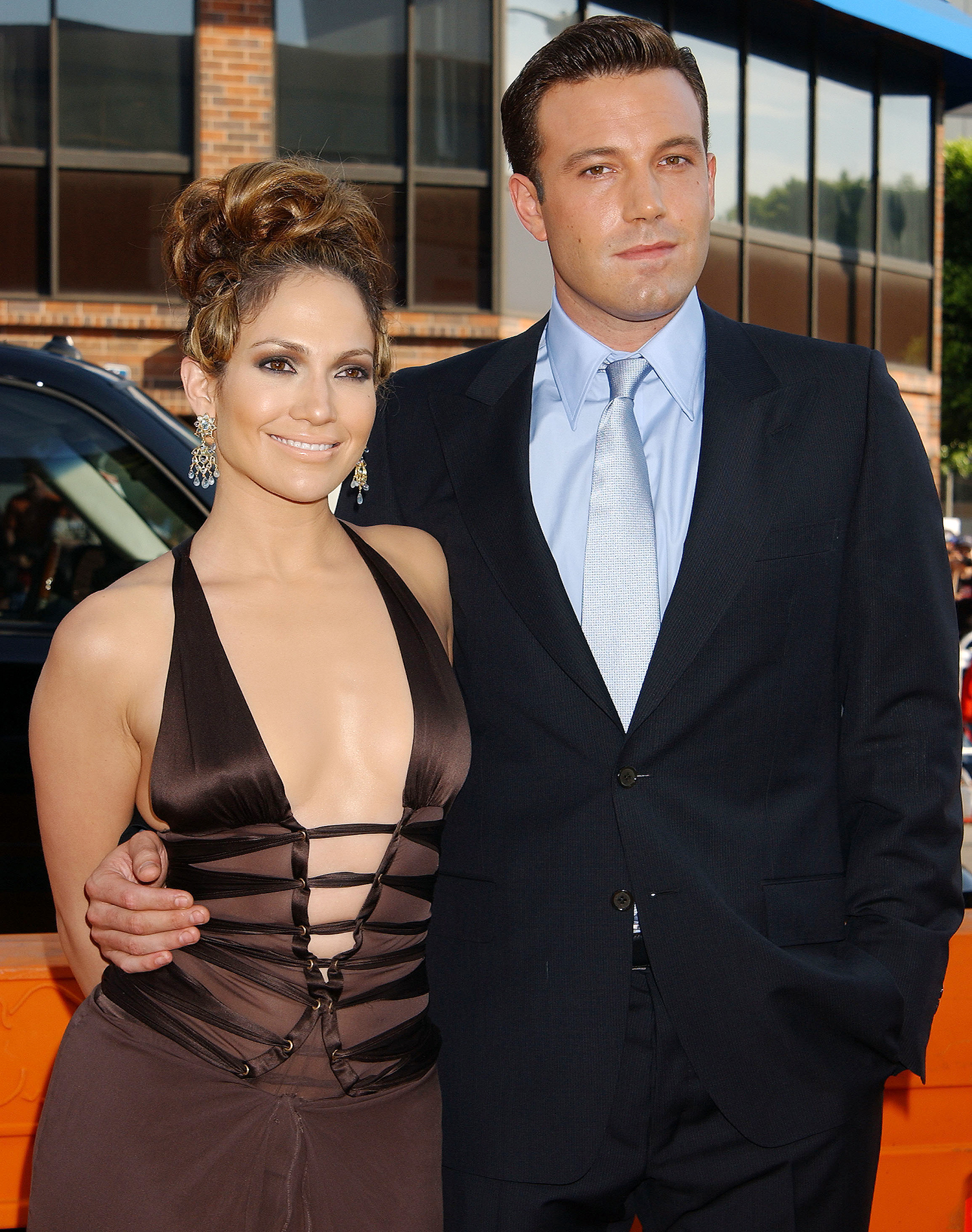 Ben Affleck & Jennifer Lopez at the National Theatre in Westwood, California