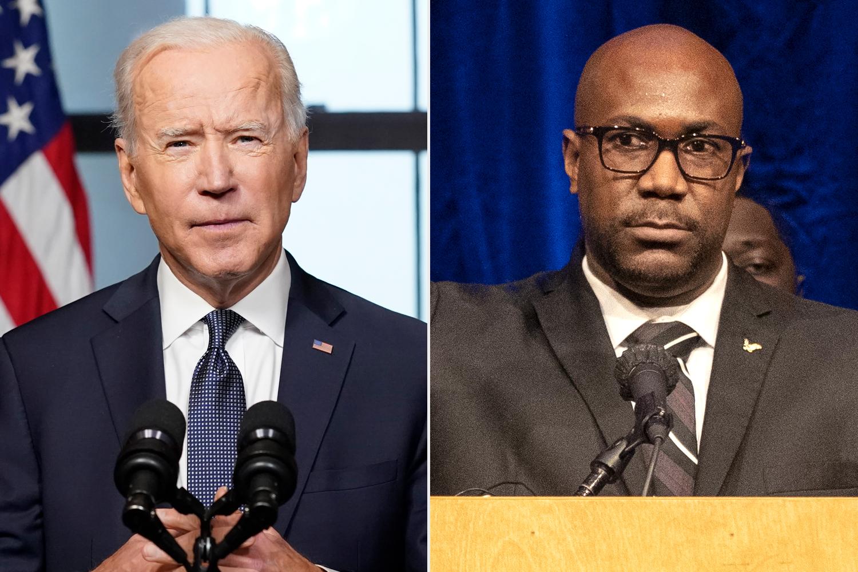 Joe Biden; Philonise Floyd