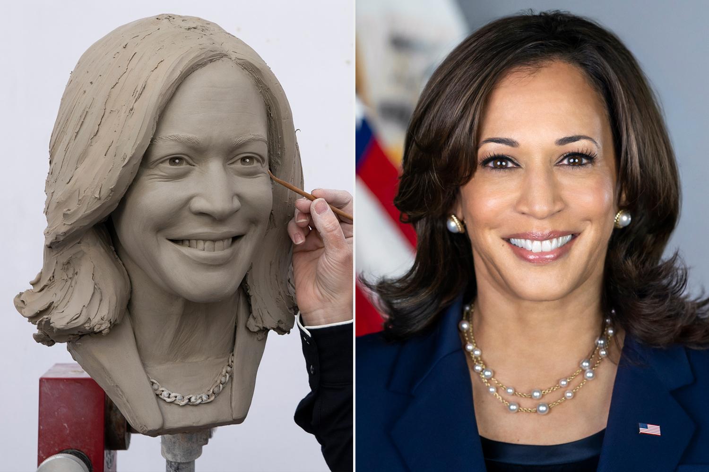 Vice President Kamala Harris Madame Tussaud's Wax Figure